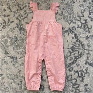 Angel Dear NWT Pink Ruffle Overalls
